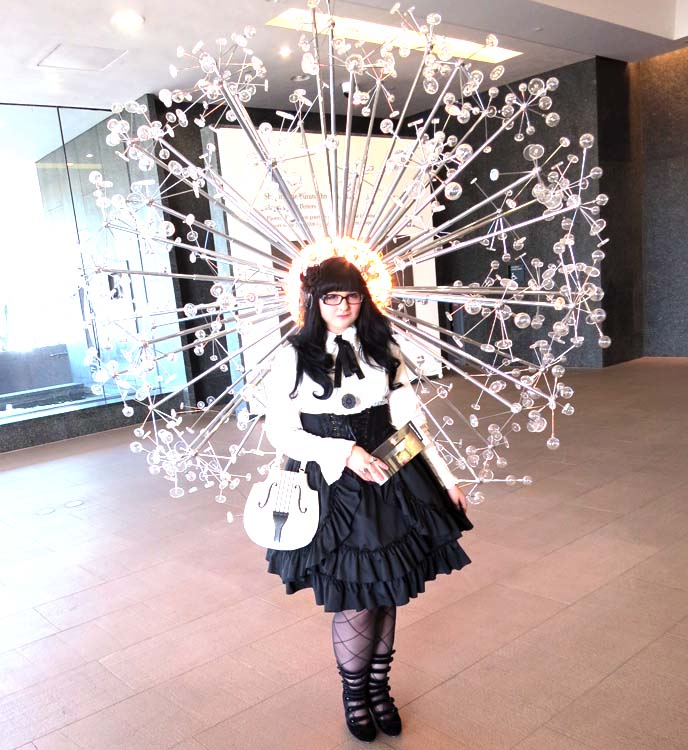 phoenix arizona art museum, art gallery exhibit, gothic lolita coordinate, egl