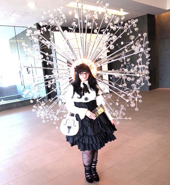 phoenix arizona art museum, art gallery exhibit, gothic lolita coordinate, egl