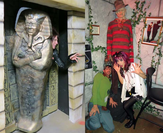 halloween statues, nightmare elm street statue