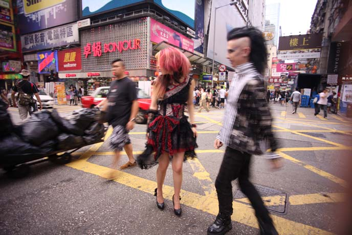 GOTHIC LOLITA brands hong kong, china gothic, goth punk fashion hong kong, SPIDER gothic lolita, asia street style