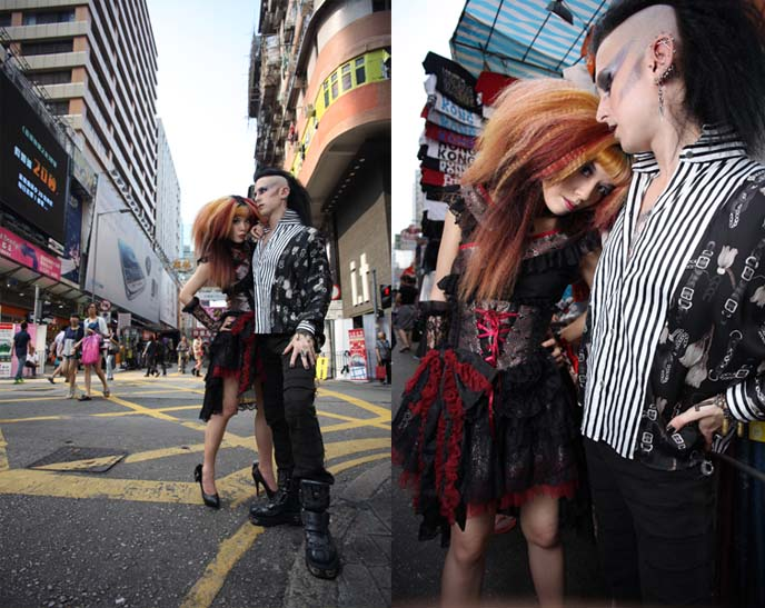 japanese goth girl, japan goth, tokyo harajuku fashion, japanese goth makeup, visual kei hair, jrock clothes