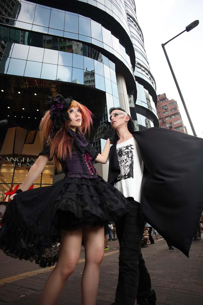 hong kong fashion magazine, hong kong fashion blogger, chinese models, clolita models, gothic lolita dress