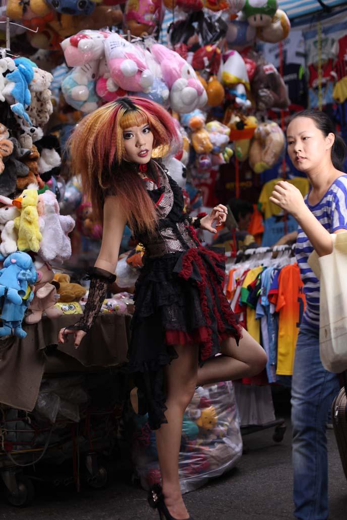 asia goths, goth brands, chinese lolitas, japanese lolitas, lolita models