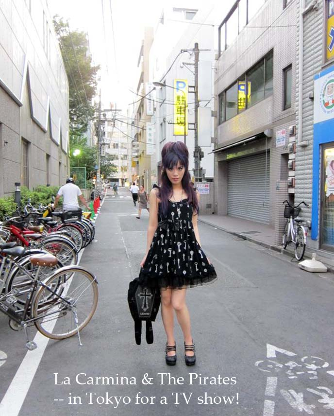 Tokyo Kawaii TV international, kawaii TV, kawaii girl, tv host, fashion blogger, tokyo stylist, japanese tv, kawaii tv girl, nhk kawaii tv, japan street style, tokyo fashion, tokyo street snaps, harajuku girl, pastel goth, goth japan, streetwear tokyo, oddities la carmina