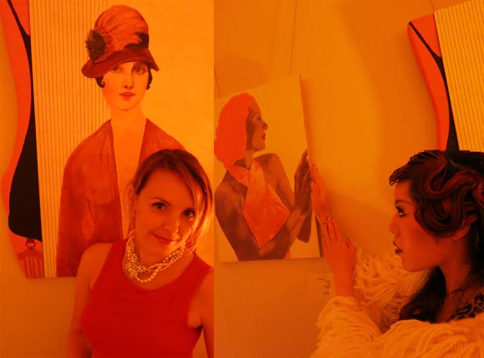 retro vintage clothing, 1920s hair, dancing the charleston, miami fashion bloggers