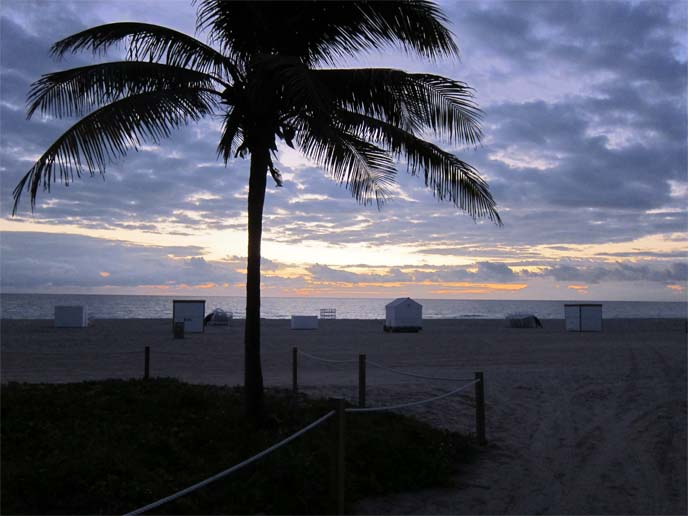 south beach sunrise, miami ocean, florida beach, miami beaches, sky, scenery miami