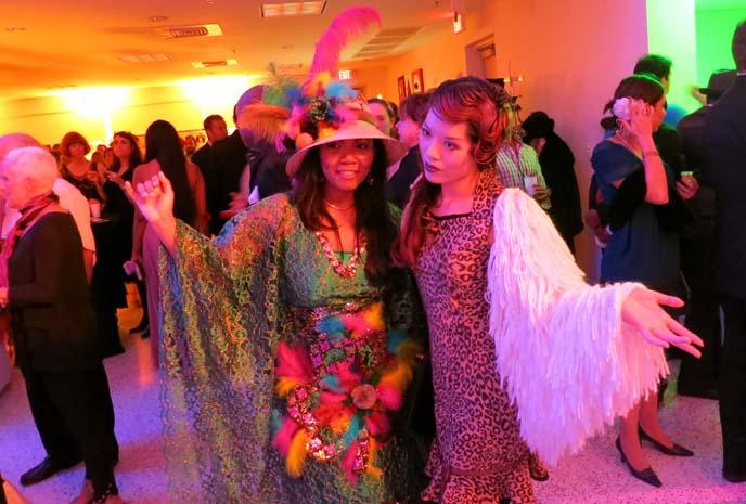 art deco weekend, retro gala, leopard print dress, bettie page dress, flapper jacket