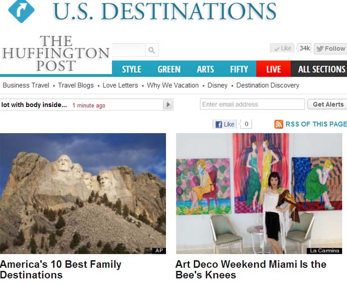 huffington post travel, top usa boutique hotels, rock n roll hotel, coolest hotels