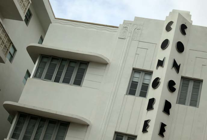 congress hotel, south beach, art deco fonts, art deco building, deco design, ziggurat, art deco weekend