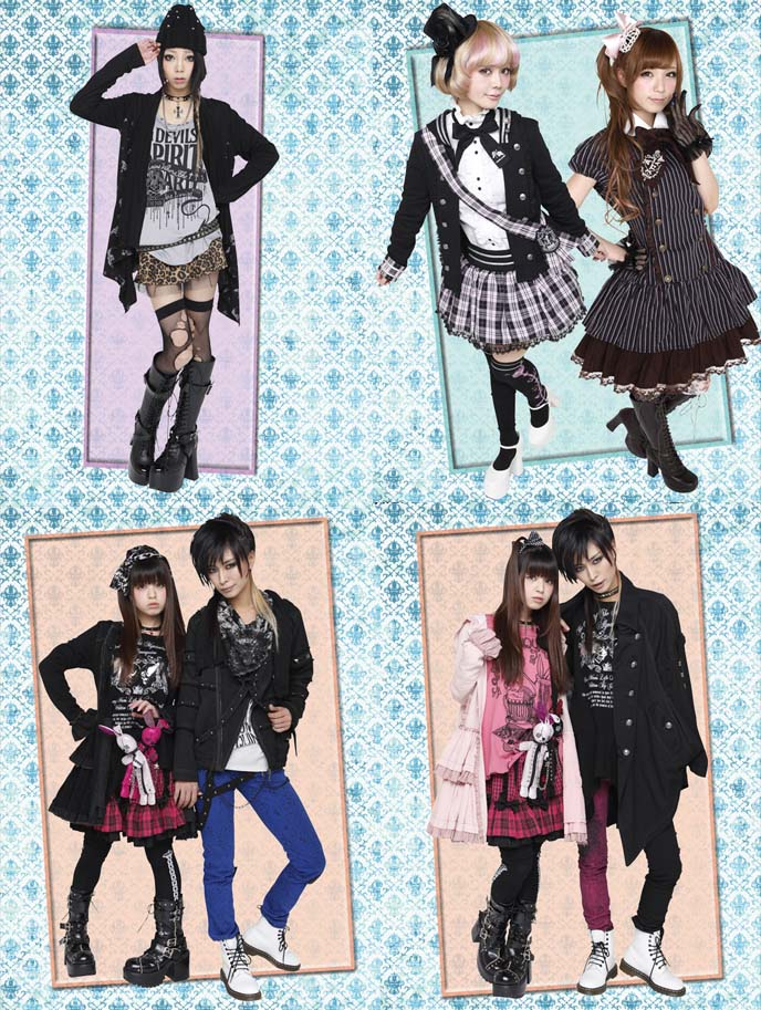 6d37a95d27 Links to Gothic Lolita Punk fashion designer websites, japanese clothing  brand list, where buy