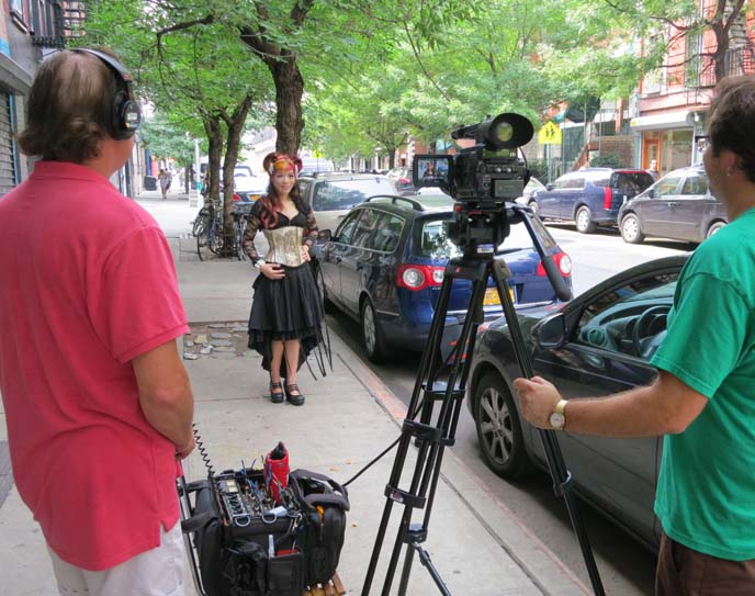 filming oddities, tv show production