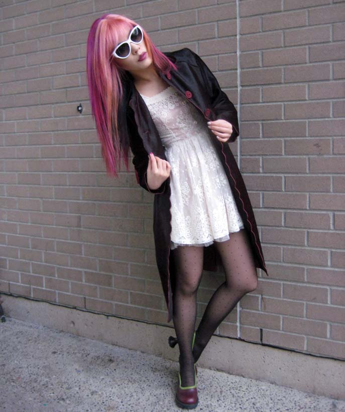 fashion blogger, outfit post, outfit of the day, goth style blog