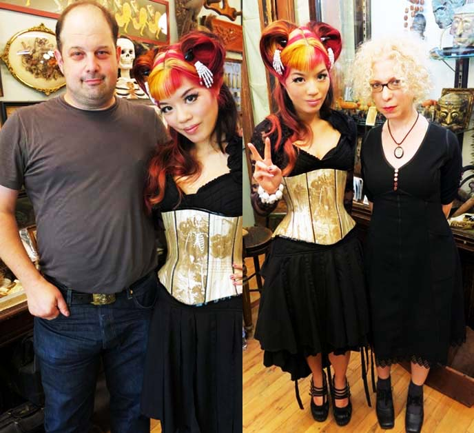 oddities new york owners, cast