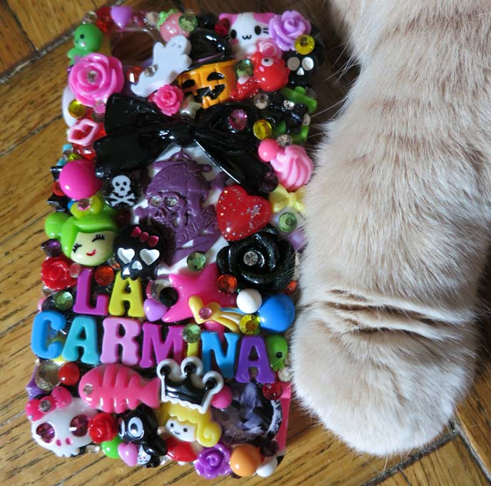 luxy loli iphone case, la carmina iphone, kawaii phone case