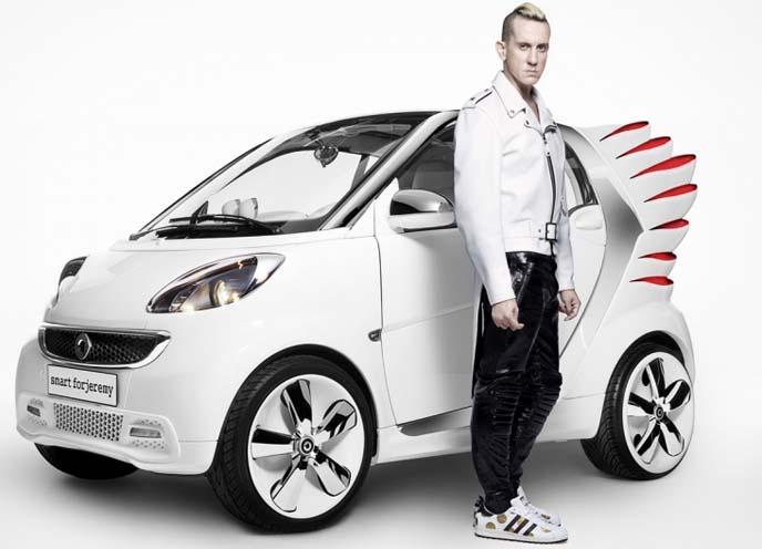 Jeremy Scott SmartCar in Tokyo, smart forjeremy, Mercedes Benz Fashion Week Tokyo smart