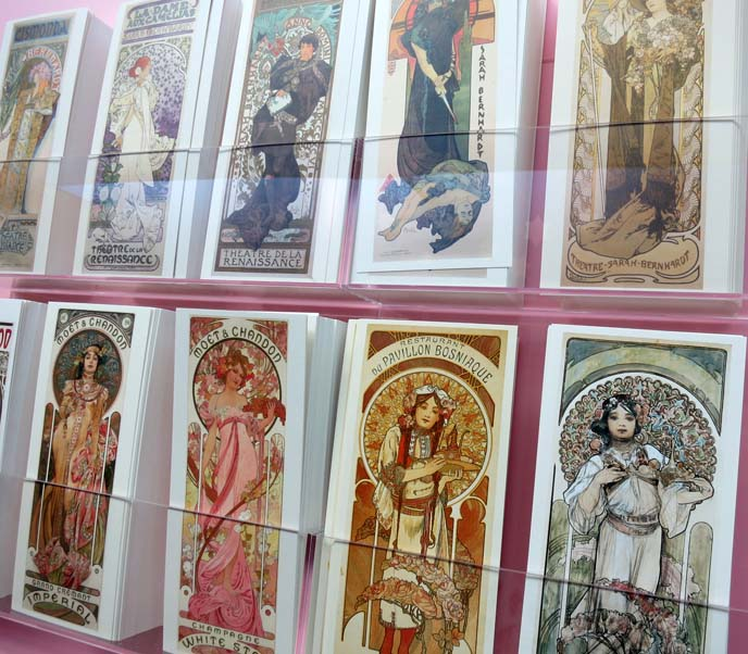 alphonse mucha postcards, poster designs, art nouveau posters, moet and chandon mucha