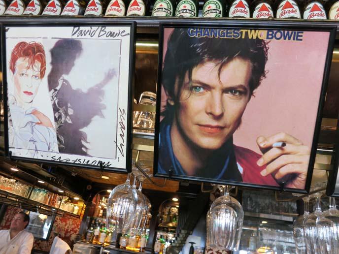david bowie tokyo, changes album, bowie restaurant, tokyo japan glam rock