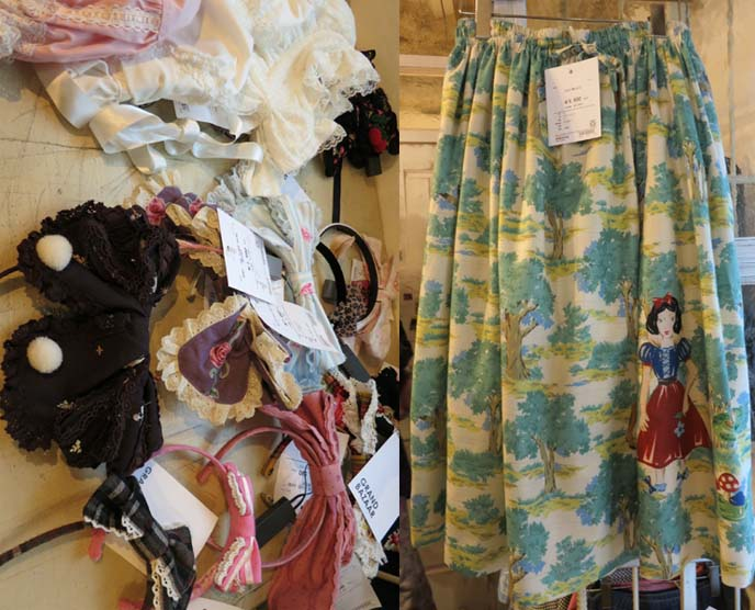 gothic lolita clothing secondhand store, egl clothes for sale, vintage lolita fashion, snow white skirt
