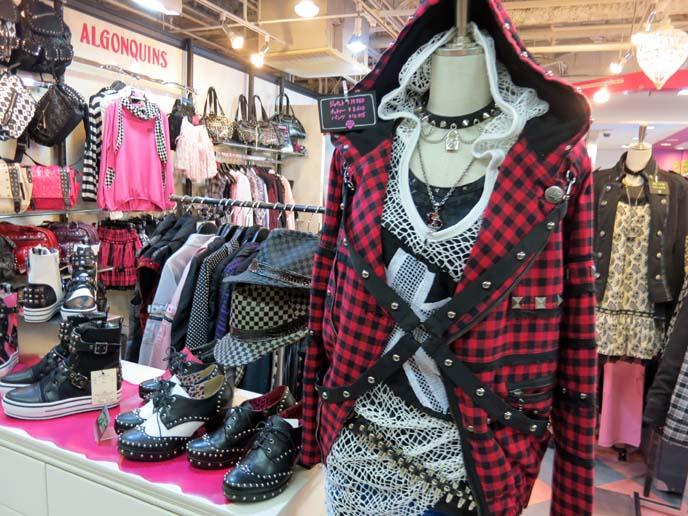 algonquins studio alta, shinjuku goth punk stores