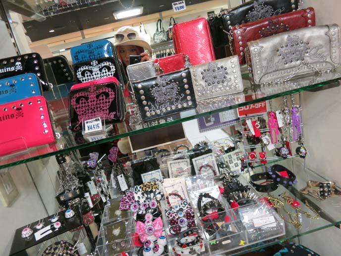 goth wallets, punk wallet, gothic lolita wallets