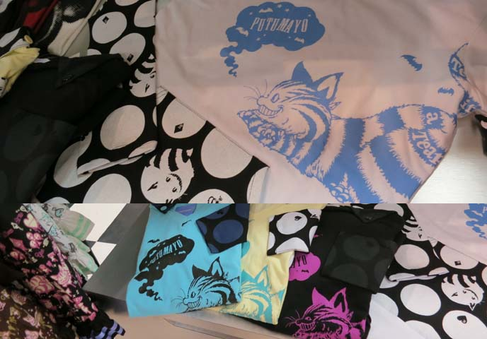 cheshire cat shirt, alice in wonderland fashion collaboration, putumayo