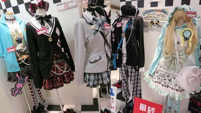 jrock outfits, tokyo gothic lolita designs