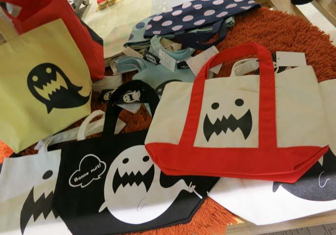 ghost face bags, Ikebukuro Sunshine City shopping