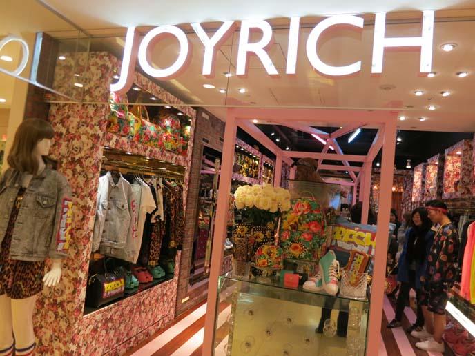 joyrich store japan, tokyo joyrich, lumine shinjuku