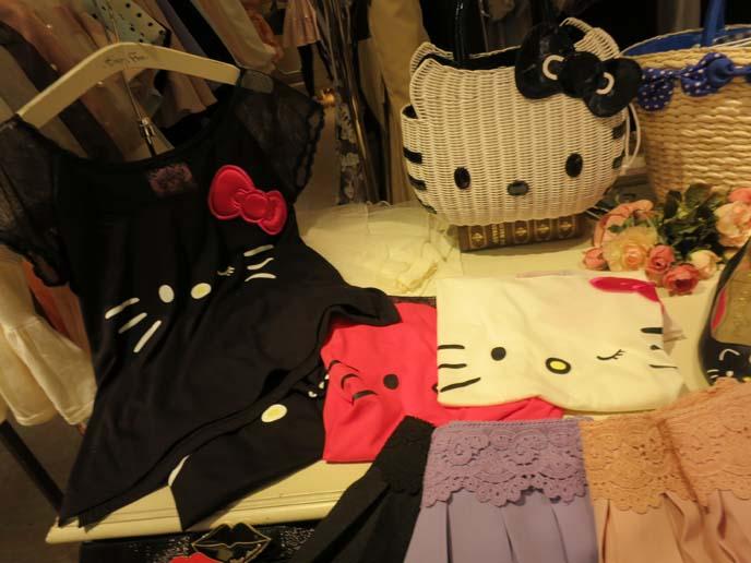 hello kitty dress, sanrio purse, hello kitty fashion line