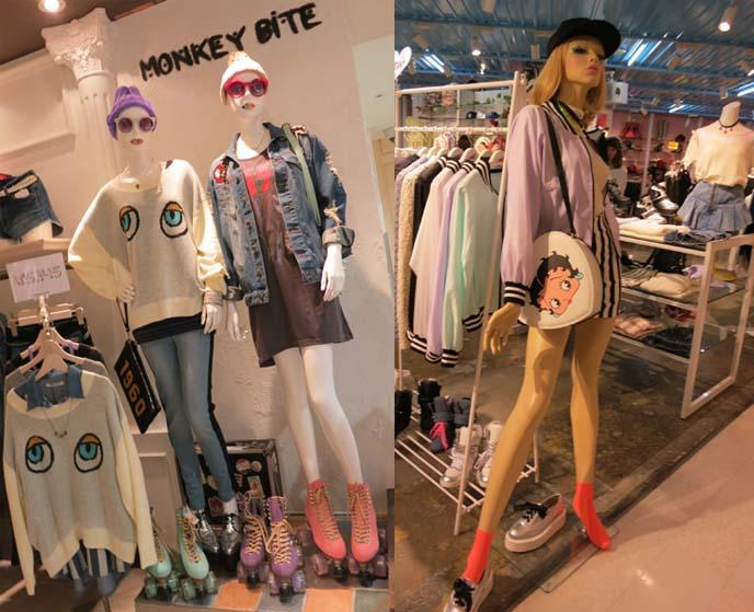 bettie boop fashion, monkey bite clothing