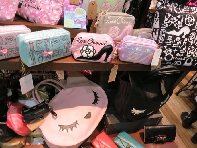 gyaru purses, young japanese cute bags