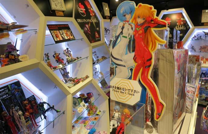 evangelion store harajuku, anime shops, エヴァンゲリオン ストア, 新世紀エヴァンゲリオン