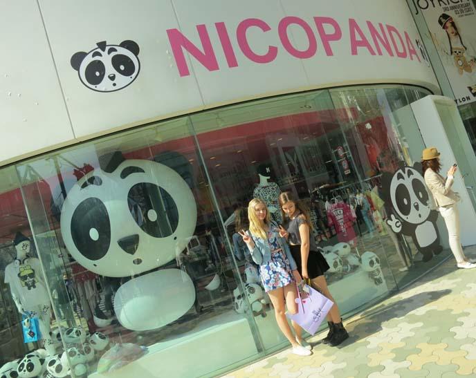 nico panda pop up store, laforet, nico panda clothing, nicopanda, nicola formichetti