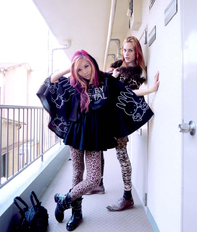 gladnews dress, heavy metal fashion, nu goth