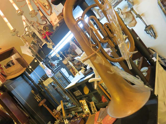 steampunk instruments, tuba, music