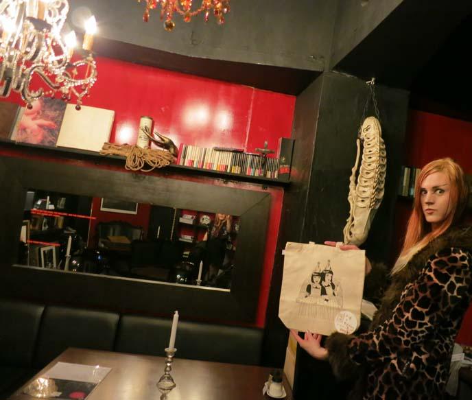 omega algea, goth cafe, nakano goths