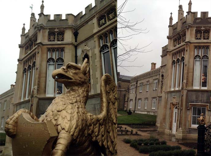 strawberry hill, walpole castle, st mary's university, gothic architecture london, uk goths, london goths