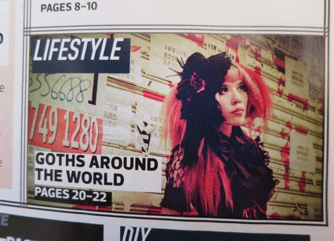gothic beauty magazine, la carmina photoshoot, la carmina egl gothic lolita fashion