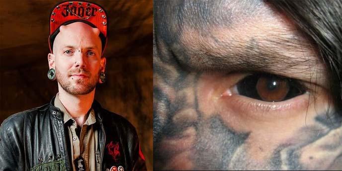 eyeball tattoos, eyeball tattooing, eye tattoo, russ foxx