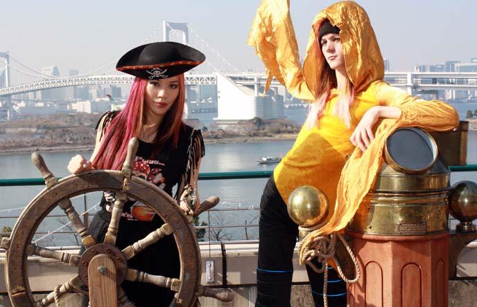 pirate themed restaurant japan
