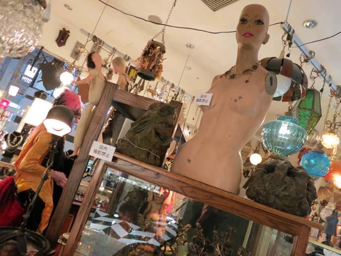 strange love, oddities, antique shop japan, Odaiba VenusFort