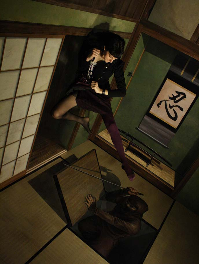 ninja fight, trick art museum odaiba