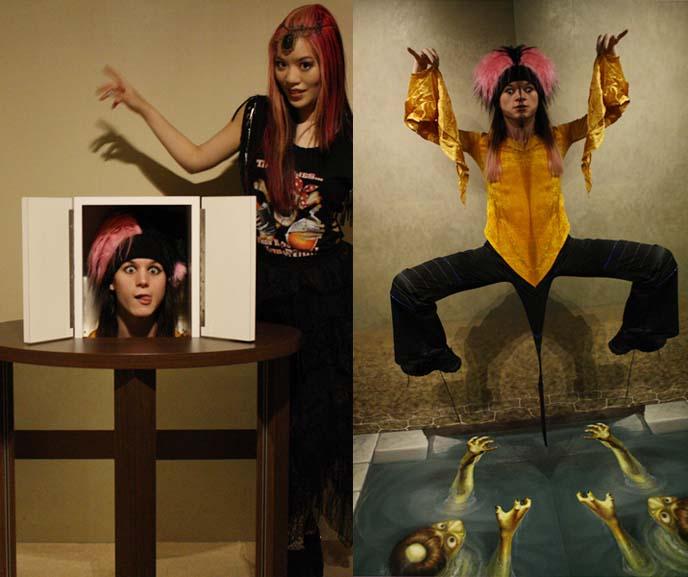 disembodied head magic trick, magic tricks museum