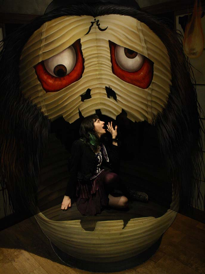 traditional japanese monsters, yokai, japan folk spirits, obake