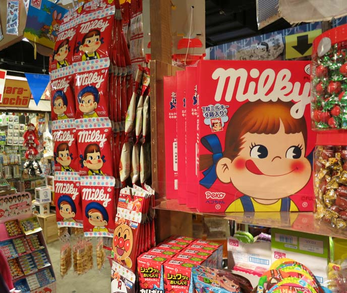 milky candy, japanese candies