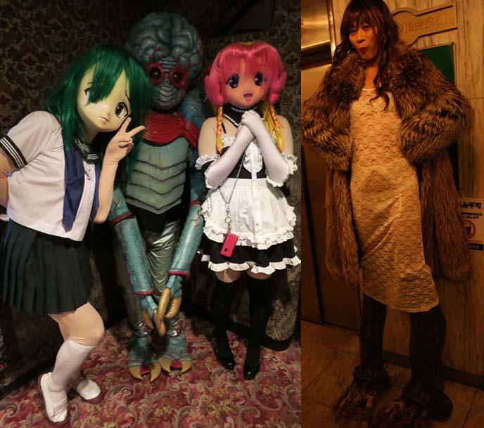 japanese kigurumi, dollers, anime costumes