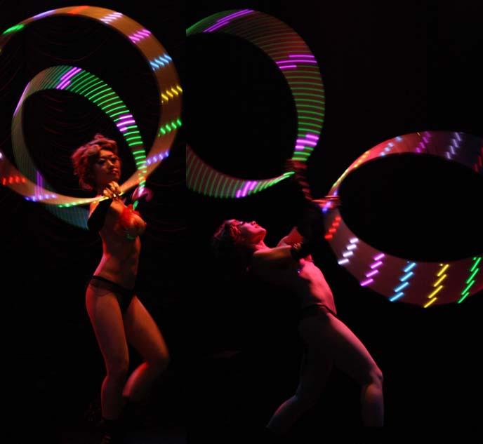 hula hoop burlesque dancer, tokyo burlesque performer