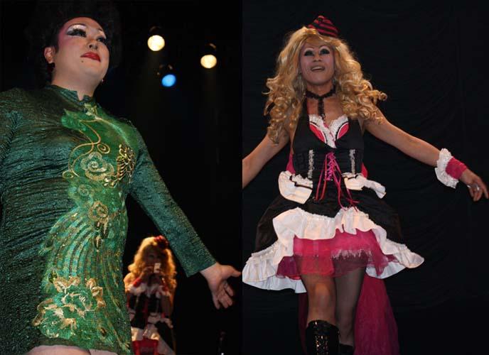 asian drag queens, ladyboys