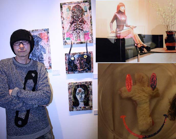 vanilla gallery, ginza art, body modifications