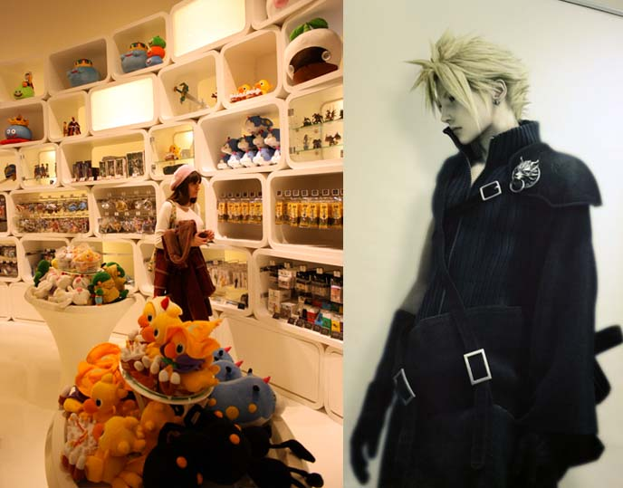 final fantasy cloud, square enix shop